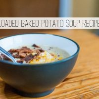 The Best Loaded Baked Potato Soup