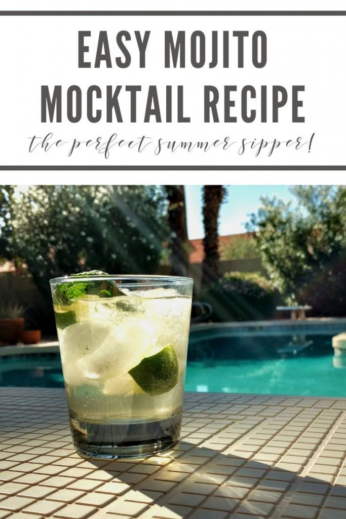 Easy mojito mocktail recipe: the perfect summer sipper!