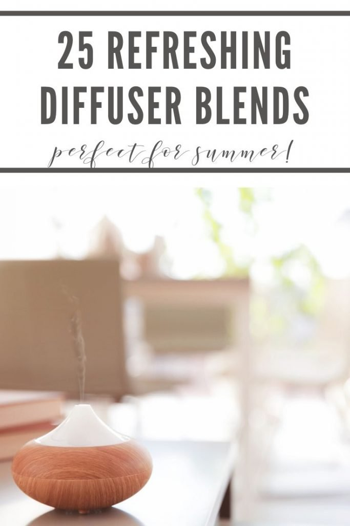 25 refreshing diffuser blends perfect for summer