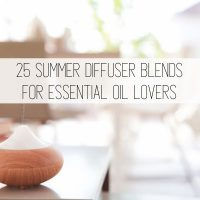 Summer Diffuser Blends with Essential Oils
