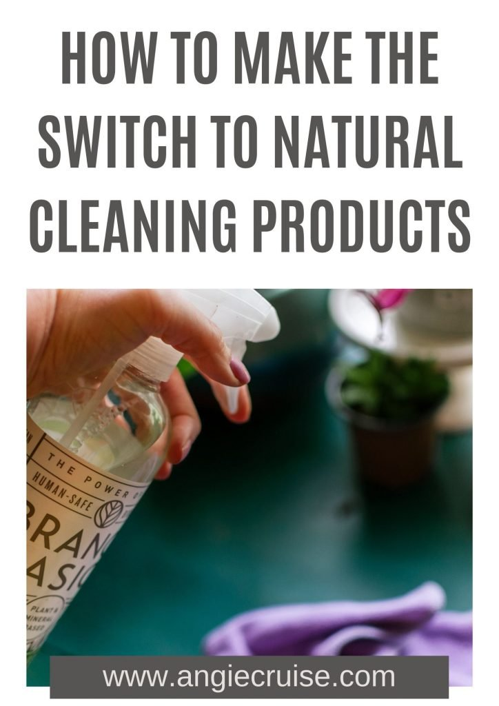 If you're new to natural cleaning products, it can be a bit overwhelming.  Today I'm going to share some tips and resources to help you make the switch.