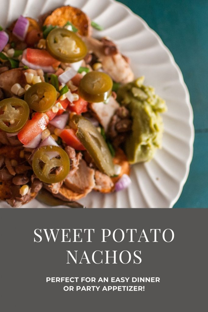 Looking for a new recipe to shake up your dinner routine? These sweet potato nachos are just the thing! Read on for the full recipe.