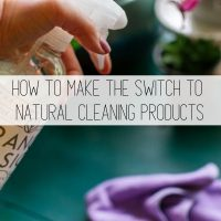 Natural Cleaning Products: How & Why to Switch