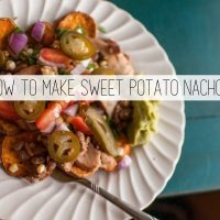 Sweet Potato Nachos Recipe
