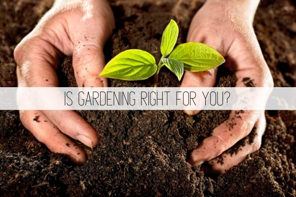 is gardening right for you?