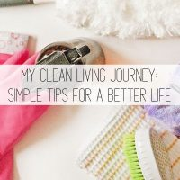My Clean Living Journey – Simple Tips for a Better Life
