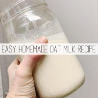 How to Make Oat Milk: Easy Dairy Free Recipe