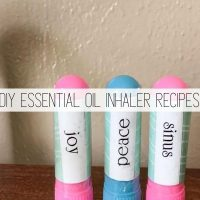 DIY Essential Oil Inhaler (+ Recipes to Try)