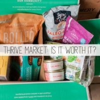 Thrive Market Review + Monthly Haul