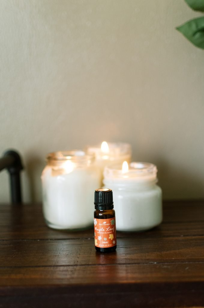 aromatherapy candles and essential oils