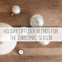 12 Holiday Diffuser Blends for the Christmas Season
