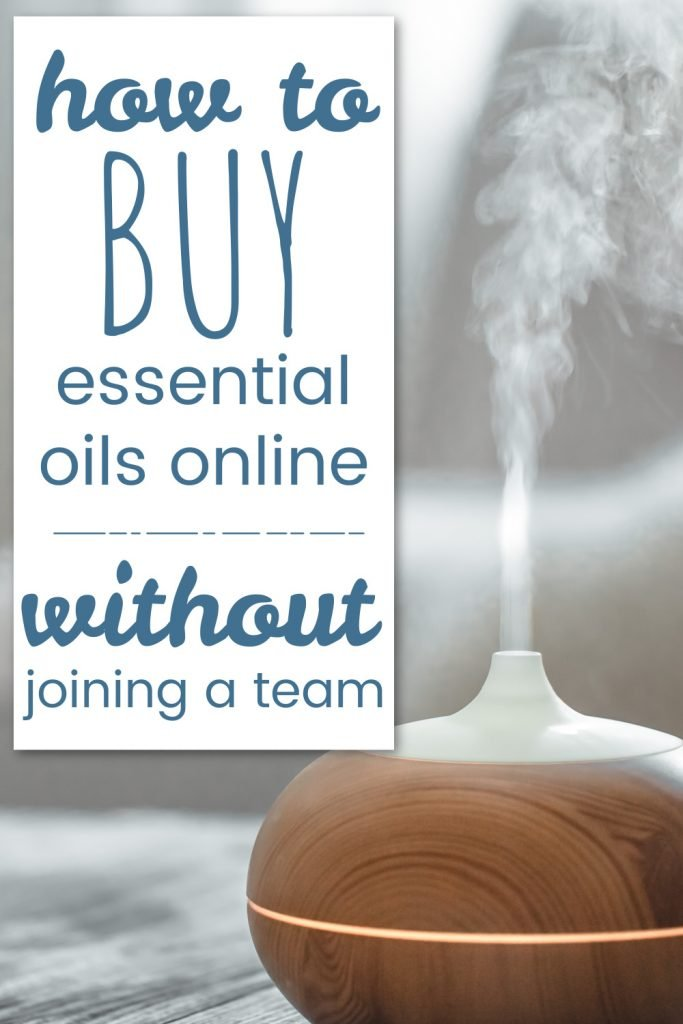 how to buy essential oils online without joining a team