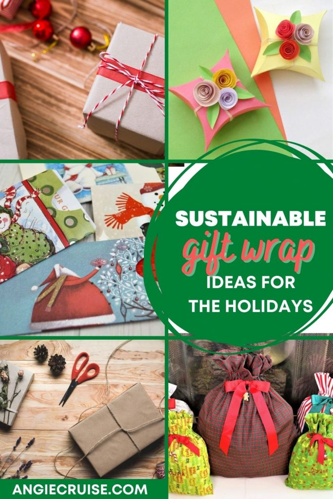 sustainable gift wrap ideas for the holidays