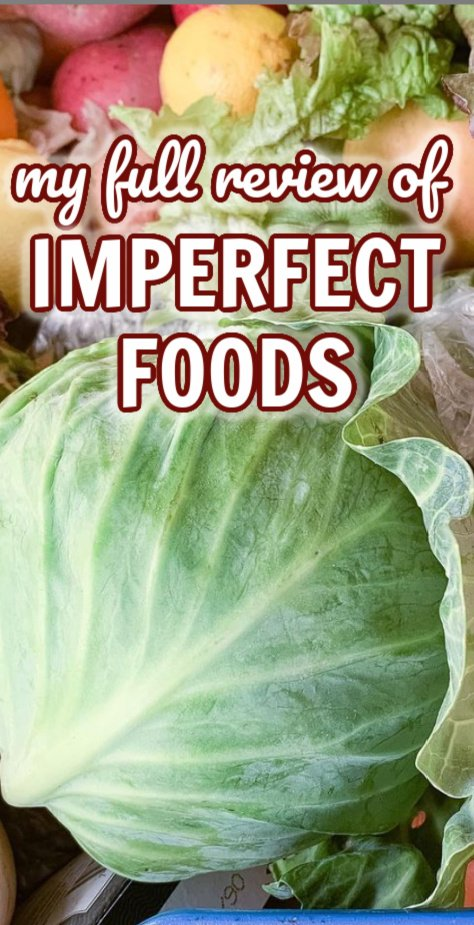 My Full Review of Imperfect Foods