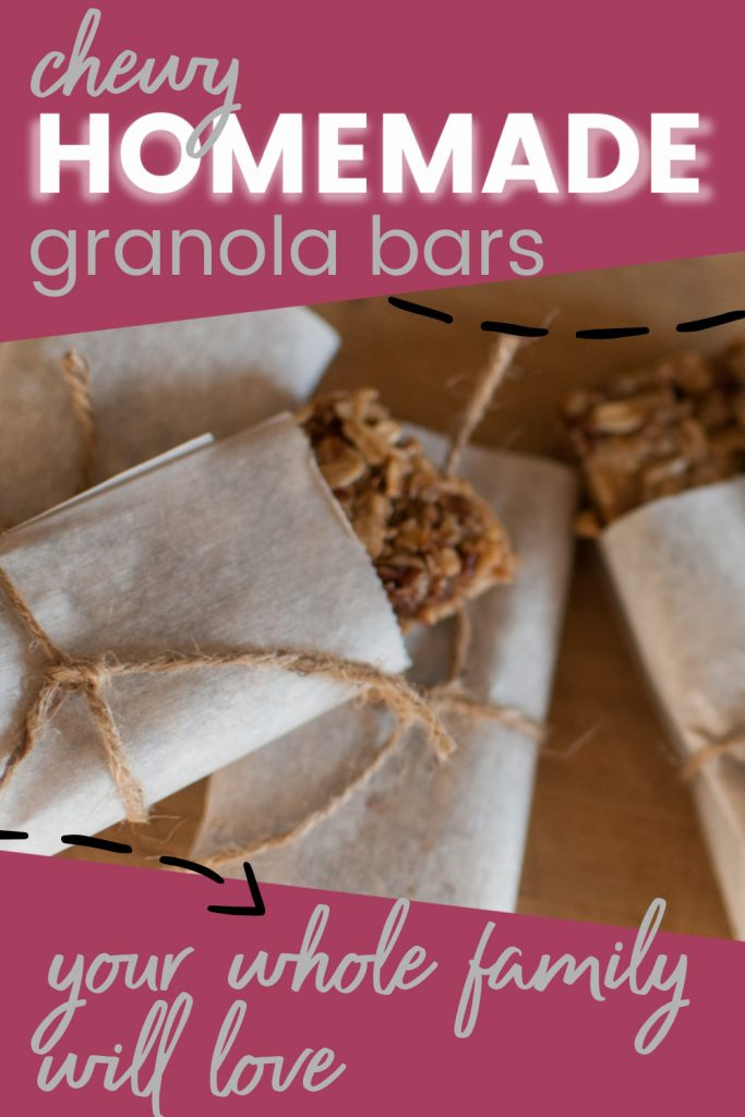 chewy homemade granola bars your whole family will love