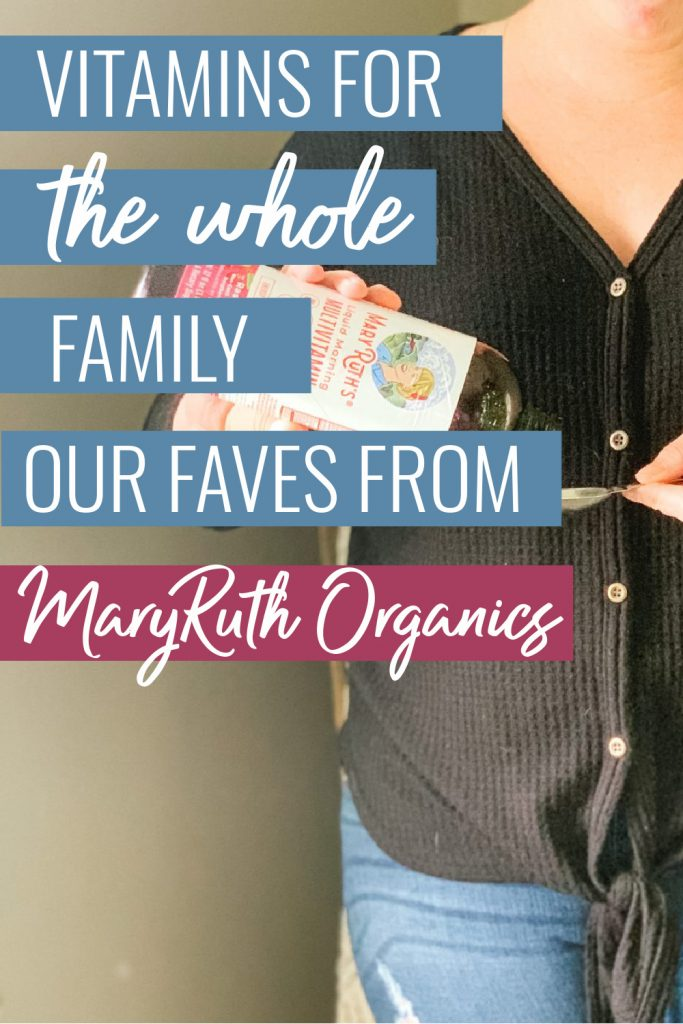 Vitamins for the whole family: our favorites from MaryRuth Organics